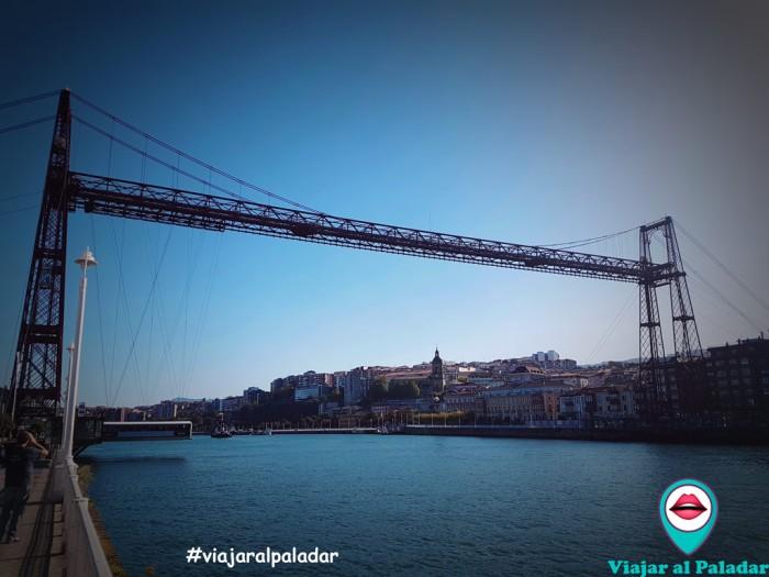 Puente Colgante getxo